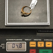 10K Yellow Gold Marquise Cut Diamond Ring, New item #351515d