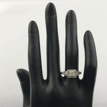 14K White Gold Diamond Engagement Ring, New item#r8189b5405
