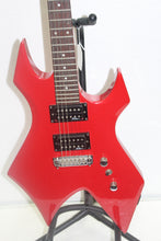 B.C. Rich Bronze series Warlock Electric Guitar red, this is Pre-Owned Item #340408