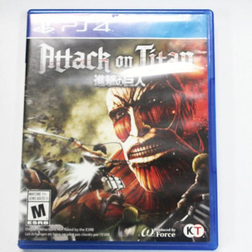Attack on Titan PlayStation 4 Game #338831h