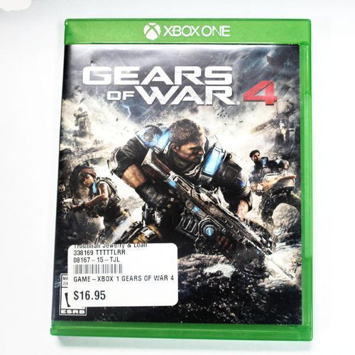 Gears of War 4 - Xbox One Game #338169