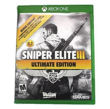Sniper Elite III Ultimate Edition - Xbox One, this is Pre-Owned Item #338376b