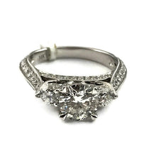 1.25CT+1.50CT Diamond Engagement Ring in 14K White Gold, New item #5042-02