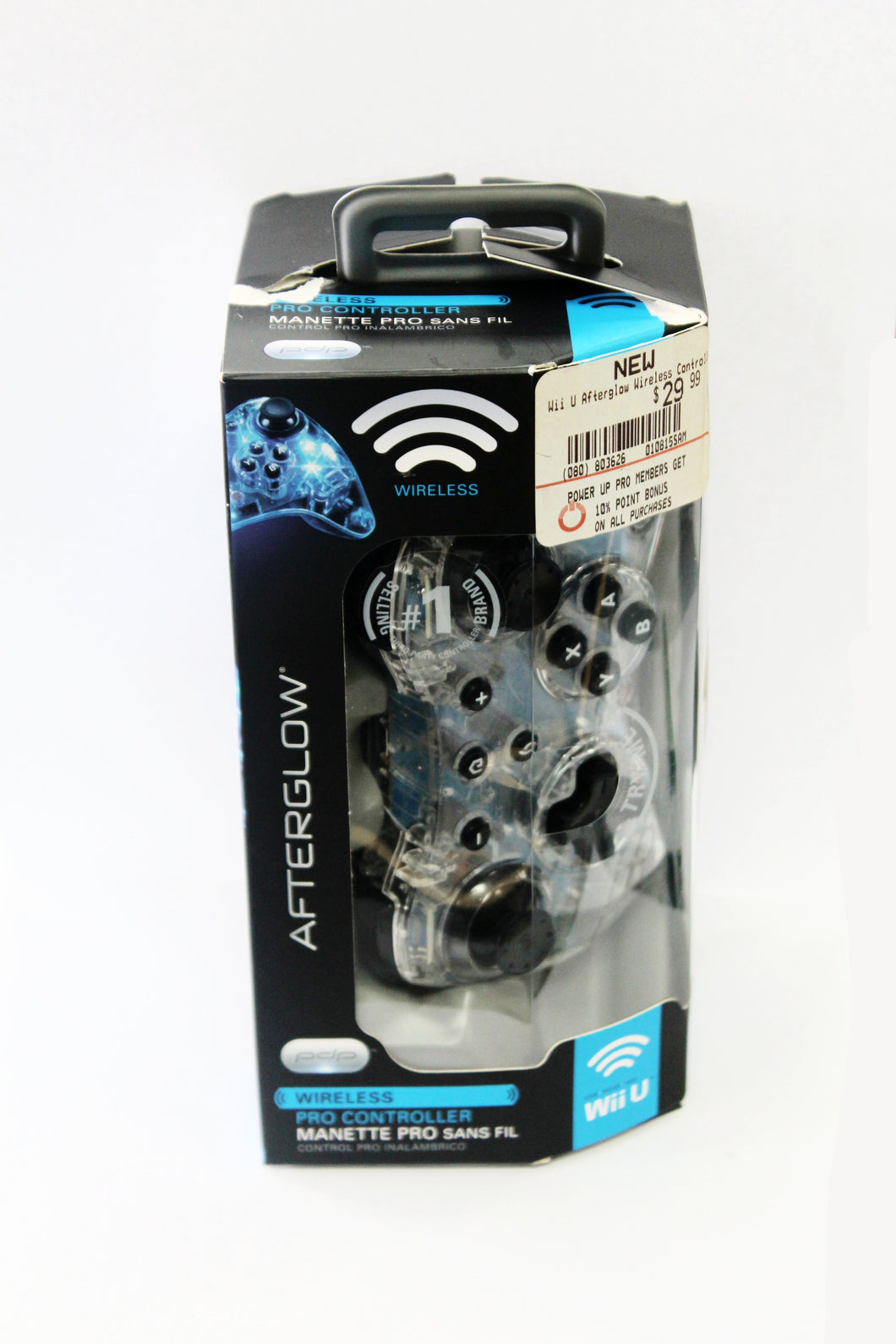 Afterglow Pro Controller for Wii U #v55686