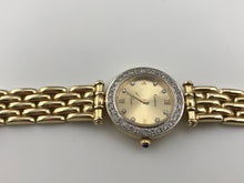 LADIES 14K YELLOW GOLD .65CT DIAMOND GENEVE WATCH 40.6g, 18cm, New item #v30578