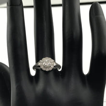 Diamond Semi Engagement Ring