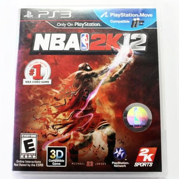 NBA 2K12 PS3 Game, this is Pre-Owned Item #310717g