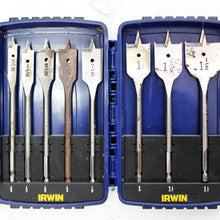 IRWIN Tools SPEEDBOR Blue Groove Pro Spade Bit Set with Case, 8-Piece  #310358f