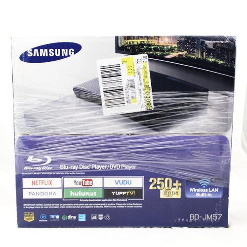 Samsung BD-JM57/ZA Blu-ray Disc Player with WiFi, this is Pre-Owned Item #348230a