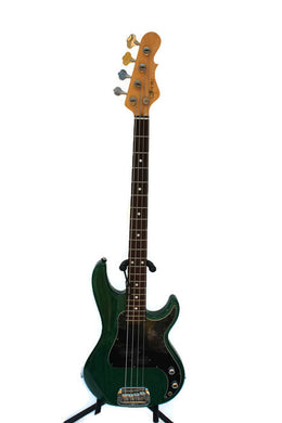 G&L SB-1 Bass Guitar Made in USA Forest Green w. hard case #348861
