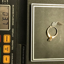 14K Yellow Gold .50CT Diamond Engagement Ring, Pre-owned item #229974
