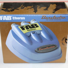 Danelectro FAB Chorus Electric Guitar Pedal D5, this is Pre-Owned Item #D5