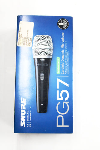 Shure PG57 Instrument Dynamic Microphone #PG57