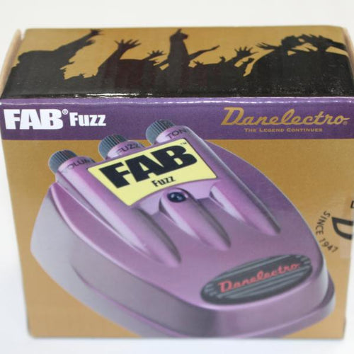 Danelectro D-7 Fab Fuzz Pedal, this is Pre-Owned Item #D7