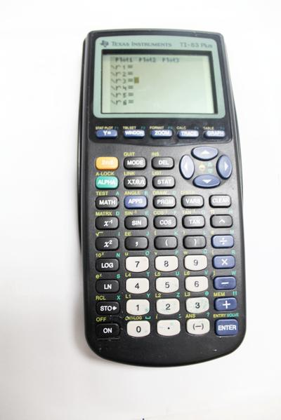 Texas Instruments TI-83 Plus Graphing Calculator, this is Pre-Owned Item #347571