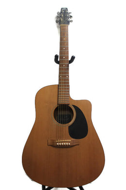 Seagull S6EW Acoustic Guitar w/Hard Case #274975