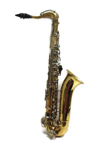 BUNDY Tenor #584379 Saxophone w/case, this is Pre-Owned Item #346030