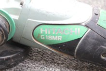 HITACHI G18MR GRINDER, this is Pre-Owned Item #325684
