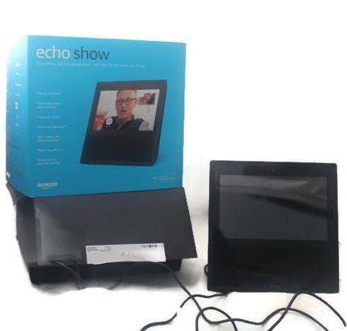 Amazon Echo Show Smart Assistant - Black, this is  Pre-Owned Item #350350