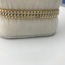 Ladies 18KY Gold  1.25CT Diamond Bracelet 8.9DWT, this is Pre-Owned Item #V24118