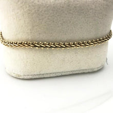 10K YELLOW GOLD LADIES BRACELET 5.2DWT Pre-Owned #317858