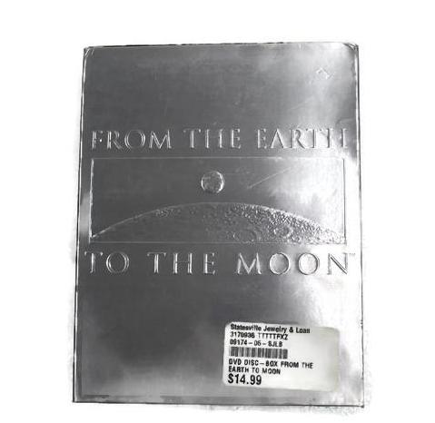 From the Earth to the Moon ~ 4 Disc Set (DVD, 1998, this is Pre-Owned Item #317093B