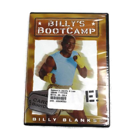 DVD Billy's bootcamp cardio bootcamp live #330949