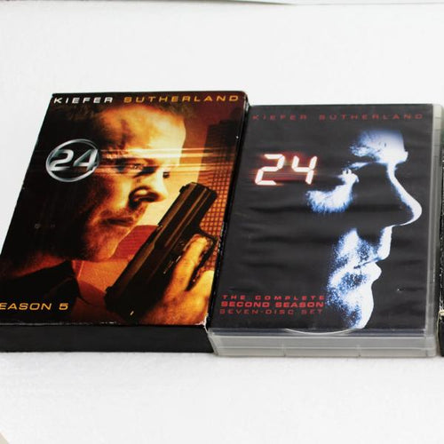 DVD BOX SETS  24 SEASONS- 2 3 4 5, this is Pre-Owned Item #336595b