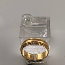 IGM Vintage Ladies Solid 14K Yellow Gold 5.6MM Wide Milgrain Wedding Band, Pre-owned item  #293679d