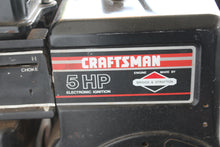 Craftsman 5hp rear tine tiller, this is Pre-Owned Item #346566
