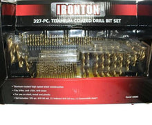 Ironton Titanium Drill Bit Set - 327-Pc #345220