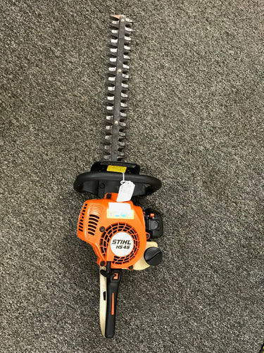 Stihl HS45 Hedge Trimmer, pre-owned item #345025
