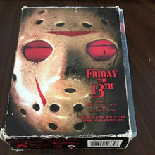 Friday the 13th - From Crystal Lake to Manhattan (DVD, 2004, 5-Disc Set) - Rare #327071D