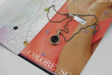 Colore Sg Sterling silver and black onyx Necklace, New Item #LVP579-NXA