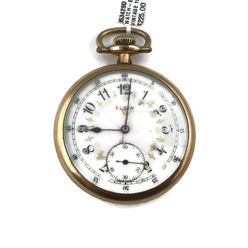 Vintage 1920 Elgin Pocket Watch