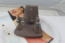 COLORE SG: BLUE TOPAZ JEWELRY SET, this is NEW Item #ZP465-BTA