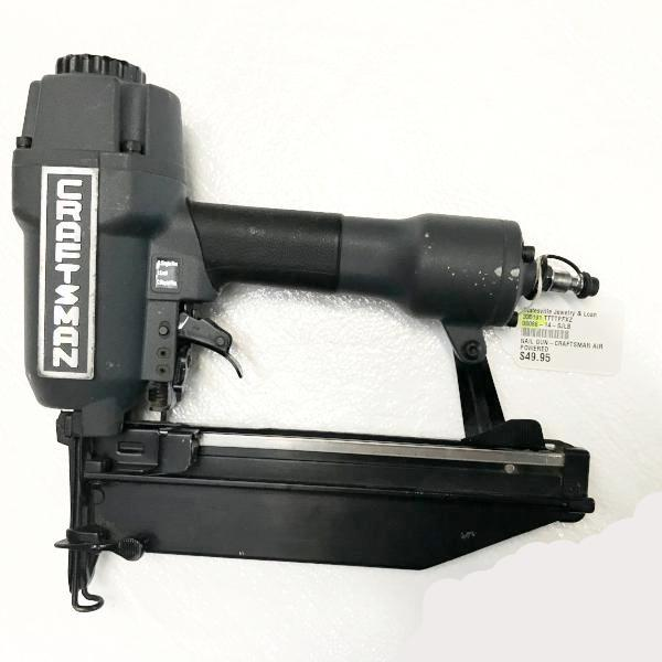 Clean CRAFTSMAN 351.184310 16 Gauge Pneumatic Finish Nailer 3/4