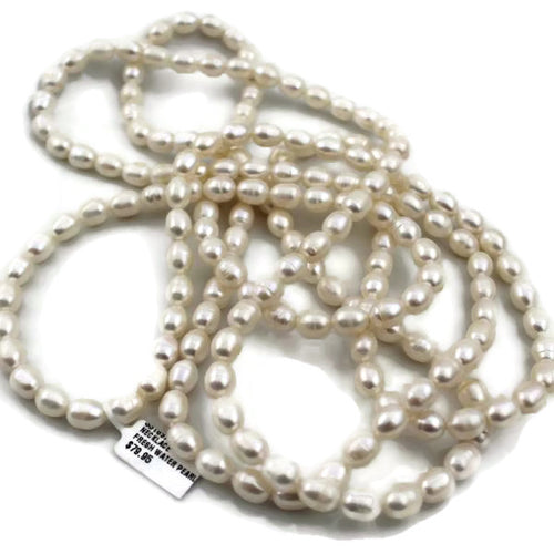 FRESHWATER PEARL NECKLACE, Pre-owned item #331897b