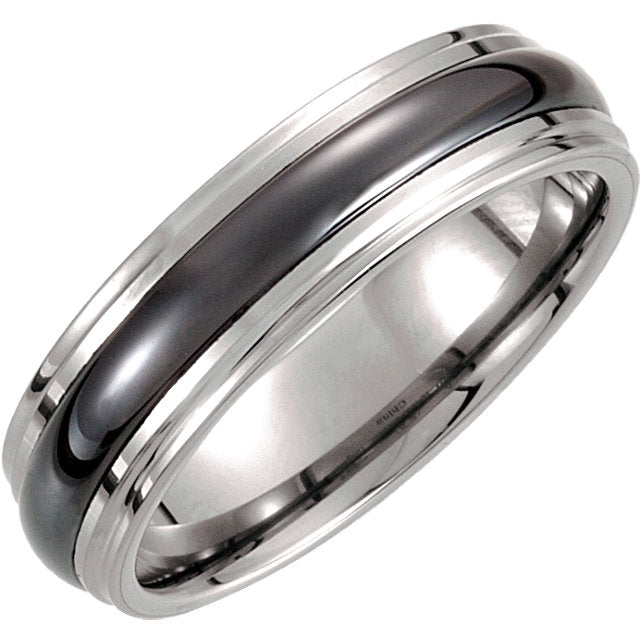 Tungsten 6.3 mm Band, New item#TAR373