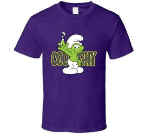 Coughy Character Purple T-shirt - Coughy