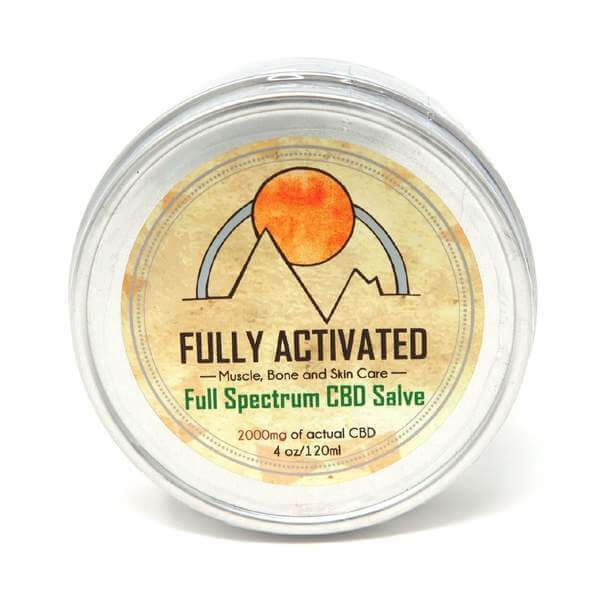 Fully Activated CBD Salve