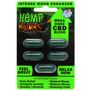 CBD Hemp Bombs Caps(5ct) - Coughy