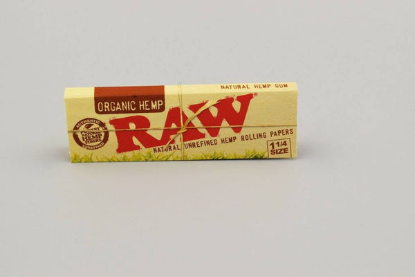 RAW Organic Rolling Papers 1 1/4 - Coughy