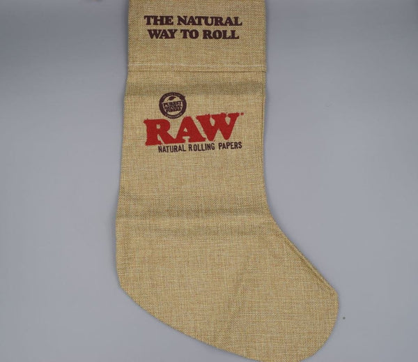 Raw Christmas Stocking - Coughy