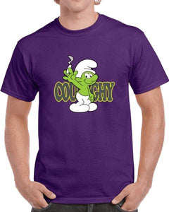 Coughy Character Purple T-shirt
