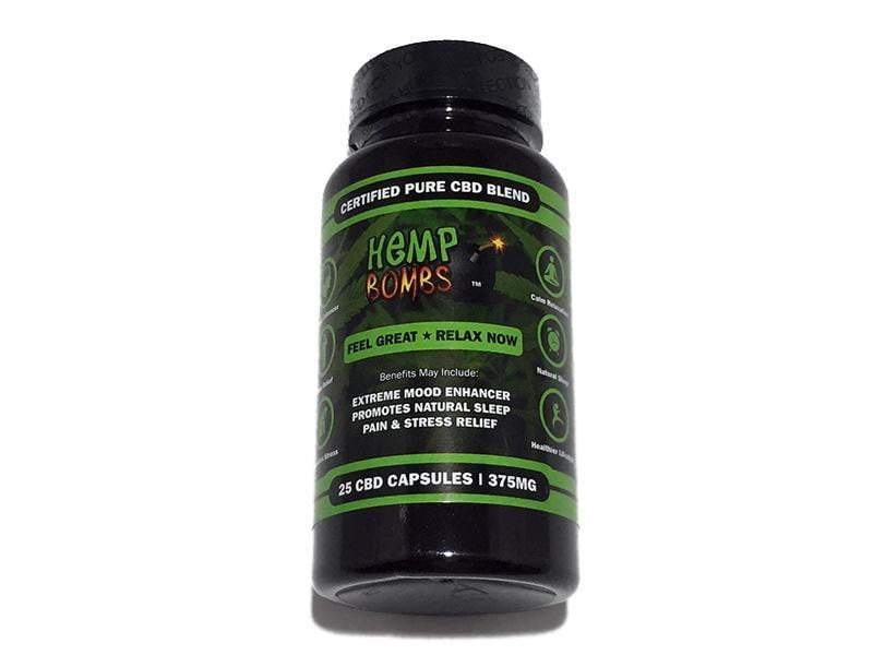 CBD Hemp Bombs Caps(375MG/25ct)