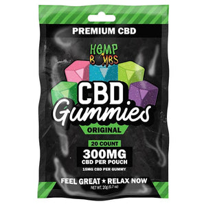 CBD Hemp Bombs Gummies(300MG/20Ct)