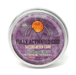 Fully activated tattoo care