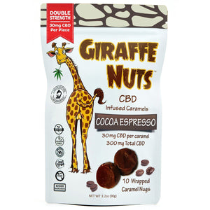 Giraffe Nuts 30Mg (10 Ct.)