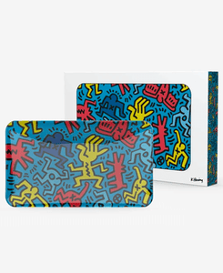 K. Haring Glass tray - Coughy